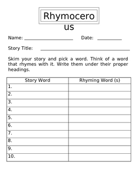 Reading Comprehension Worksheet Book Activities