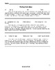 Reading Comprehension Worksheet MAIN IDEAS - Select Best Titles of 12 Paragraphs