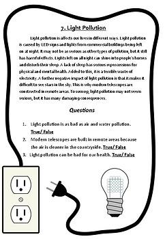 No-Prep Reading Comprehension Passages & Questions