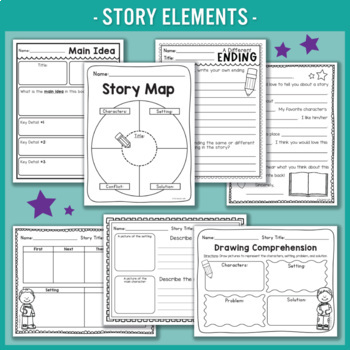 Reading Comprehension Worksheets & Activities
