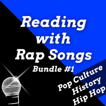 Fun Reading Comprehension Activities Using Rap Songs Mega Bundle #1