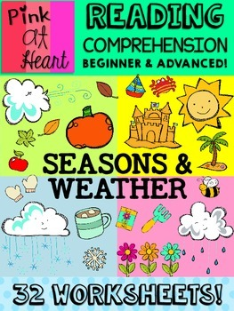Reading Comprehension Worksheets: Seasons and Weather