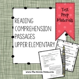 Reading Comprehension Test Prep