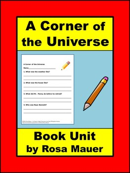 A Corner of the Universe Book Unit