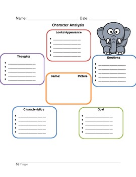 Reading Comprehension Writing Packet