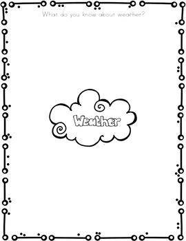 Reading Comprehension & Writing ~ Weather & Seasons
