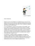 Spanish 4 Reading Comprehension  -  Dinero Desaparecido