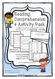 Reading Comprehension and Activity Pack