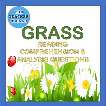 "Reading Comprehension and Analysis Questions for ""Grass"" Poem by Carl Sandburg"