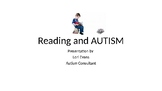 Reading Comprehension and Autism Powerpoint