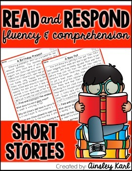 FREE PREVIEW! Reading Comprehension and Fluency Passages- Fiction Close Reads