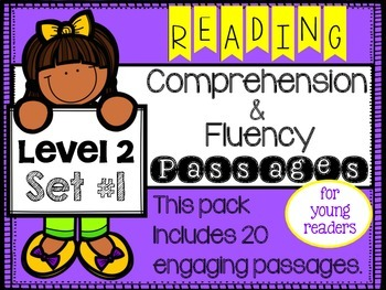 Reading Comprehension Passages Level 2