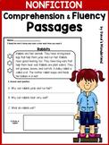 Reading Comprehension Passages 1st Grade / 2nd Grade