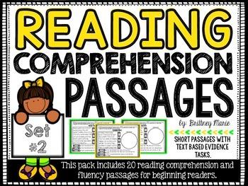 Reading Comprehension Passages Set 2