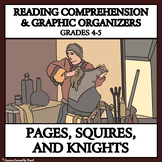 Printable READING PASSAGES AND GRAPHIC ORGANIZERS - Pages, Squires & Knights