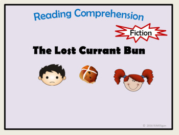 Reading Comprehension and Questions - Close reading, word and grammar work