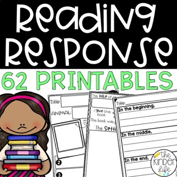 Reading Comprehension and Response Activities: Pre-K to 2nd Grade