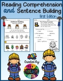 Reading Comprehension and Sentence Building First Edition