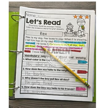 Reading Comprehension and Text Evidence-August