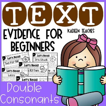 Reading Comprehension and Text Evidence for Beginners(Double Consonant Sounds)