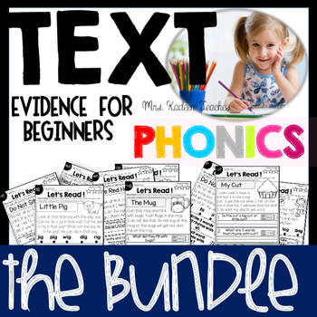 Reading Comprehension and Text Evidence for Beginners-Phonics Preview