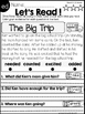 Reading Comprehension and Text Evidence with Inflectional Endings and more