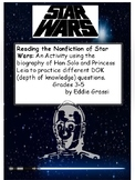 Reading comprehension, inferences and nonfiction: Using Star Wars