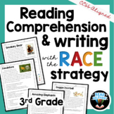 Reading Comprehension and Writing with the RACE Strategy: Grade 3