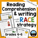 Reading Comprehension and Writing with the RACE Strategy: Grades 4-6