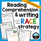 Reading Comprehension Multiple Choice with RACE Strategy Passages & Prompts