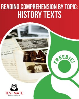 Reading Comprehension by Topic: History Texts (Common Core Worksheets)