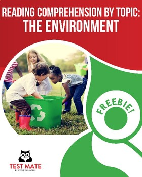 Reading Comprehension by Topic: The Environment (Common Co