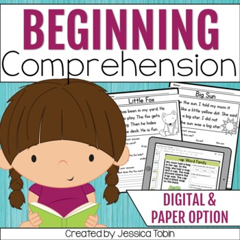 Easy and Beginner Reading Comprehension Passages and Questions