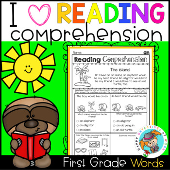 Reading Comprehension for Non-Writers (First Grade Sight Words)