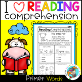 Reading Comprehension for Non-Writers (Primer Sight Words)