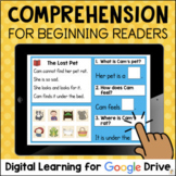 Reading Comprehension for Beginning Readers Google Classro