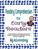 Reading Comprehension for Early Readers & Students with Autism
