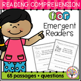 Reading Comprehension Passages and Questions | Distance Learning