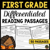 First Grade Reading Comprehension Passages