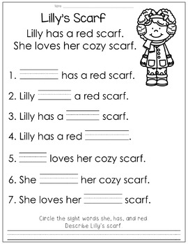 Reading Comprehension for Little Learners February Edition