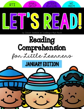 Reading Comprehension for Little Learners January Edition
