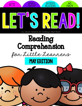 Reading Comprehension for Little Learners May Edition
