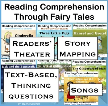 Fairy Tales: Reading Comprehension for Primary Students