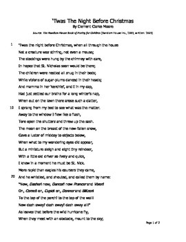 Reading Comprehension for Short Story/Poetry--5 of 5 pieces