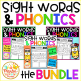 Reading Comprehension for Sight Words and Phonics (The Bundle)