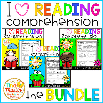 Reading Comprehension for Non-Writers (Bundle)