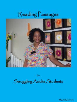 Reading Comprehension for Struggling Adult Readers