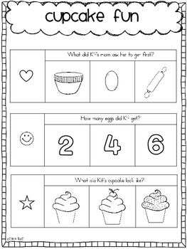 Reading Comprehension for Young Learners PACK #2 {pack of 5 stories}