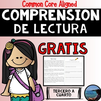 Reading Comprehension in Spanish - Comprensión de lectura