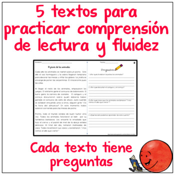 Reading Comprehension in Spanish - Comprensión de lectura- Passages in Spanish